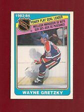 1984-85 O-Pee-Chee NHL PP Goal Leaders #383 Wayne Gretzky Edmonton Oilers