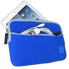 Azul De Neopreno Funda Para Ipad Mini De Apple 1ª, 2ª Gen Retina Nuevo Y Mini 3