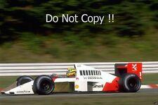 Ayrton Senna McLaren MP4/5 Winner German Grand Prix 1989 Photograph 3