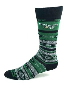 Philadelphia Eagles Football Gray Green and Black Southwest Crew Socks