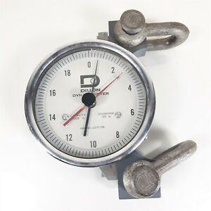 Dillon Dynamometer 2000 lb Capacity, Divisions by 20 lb