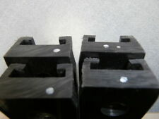 "SET OF 4 NEW GRAPHITE SLIDERS HYFAX YAMAHA APEX NITRO ATTAK PHAZER 56.9 "" LONG"