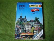 Faller ams   - Magazin / Broschüre von 1990/91