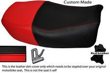 RED & BLACK CUSTOM FITS KAWASAKI ZR 750 ZEPHYR 91-99 DUAL SEAT COVER