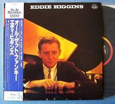 EDDIE HIGGINS on VeeJay - Japan LP + OBI