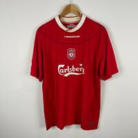 Reebok Liverpool Soccer Football Jersey Mens L/XL Harry Kewell #7 Short Sleeve
