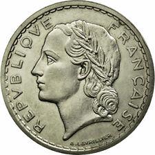 [#652980] Monnaie, France, Lavrillier, 5 Francs, 1937, Paris, TTB+, Nickel