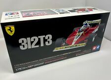 Tamiya | Ferrari 312T3 F1 RC Car Kit on F104W Chassis | 2 bodies included