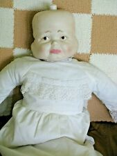 Vintage Soft Body Doll with 3 Faces-Happy,Crying & Sleeping