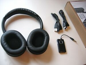 Wireless Headphones with Audio Transmitter - No Lag | Low Latency