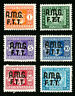 Trieste Stamps # J1-6 VF OG LH Set of 6 Scott Value $60.00