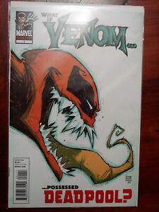 What If Venom Possessed Deadpool #1 (2011) Scottie Young