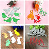 Cute Bird Bee Rabbit Dogs Metal Cutting Dies Stencil DIY Scrapbooking Card Craft