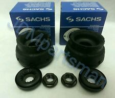 Audi VW Sachs Front Strut Mount W/ Bearings & Nuts 6pc Set. Left & Right