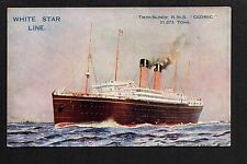 White Star Line Printed Collectable Sea Transportation Postcards