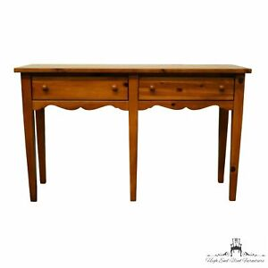 """BROYHILL FURNITURE Rustic Country Style Knotty Pine 48"""" Console / Sofa Table"""