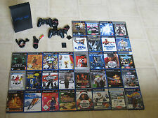 Playstation 2 komplett mit 5 Gratis Spiele + 2 Controller + MC PS2 PS 2 Konsole