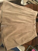 TOMMY BAHAMA Casual Shorts 100% Silk Army Green Olive Flat Front Men's 35