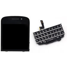 Blackberry Q10 LCD Display Screen Digitizer Assembly Button Keyboard Original