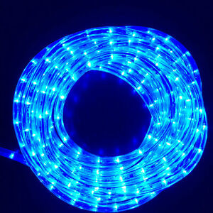 10M Connectable LED Rope Light - Blue