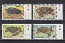 TIMBRE STAMP 4 ILE ANGUILLA Y&T#492-95 TORTUE TURTLE NEUF**/MNH-MINT 1983 ~B80