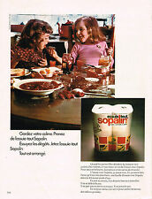 PUBLICITE ADVERTISING 084  1972  SOPALIN  essuie-tout