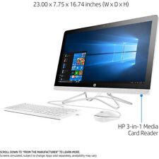 """Hewlett Packard 24-e010 23.8"""" AMD A6-9200 All-in-One Desktop Touch Computer (201"""