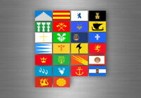 Aufkleber sticker bundesstaat lander flagge flaggen stempel fahne norwegen