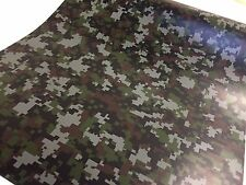 Camouflage Digital 1ft x 5ft  Camo Graphic Vinyl Auto Car Wrap Film Sheet Roll