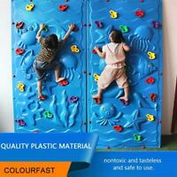 1 pcs / set Colorful Plastic Rock Climbing Wall Assorted Stones for Children