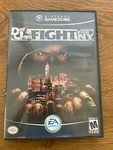 Def Jam: Fight for NY (Nintendo GameCube, 2004) with manual complete Rare  game