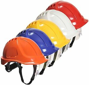 Portwest PW54 Endurance Plus Helmet Hard Hat Defender Cap Safety Workwear