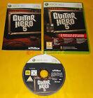 GUITAR HERO 5 XBOX 360 Versione Italiana 1ª Edizione ○○ COMPLETO - AI