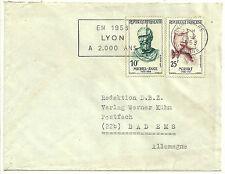 Lettre de Lyon du 25.02.1958 pour BAD EMS ( RFA)