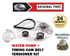 FOR CITROEN BERLINGO 1.6 HDI 2005--> TIMING CAM BELT TENSIONER KIT + WATER PUMP