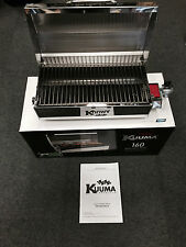 Kuuma Stow N' Go 160 Gas BBQ Grill 13,000BTU Regulator Mount Marine Boat 58130