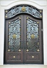 """Custom Made 12 Gauge Wrought Iron Doors  (72"""" X 108"""")"""
