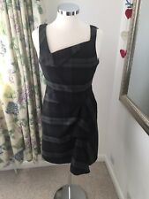 Next Size 10 Smart Checked Work Business Office Dress