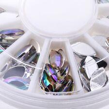 Hot Heteroideus Nail Art Decoration Phone Paste Drill Round Diamond Rhinestones