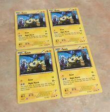 Pokemon 4 x Joltik Night March Phantom Forces 26/119 Common Nr Mint