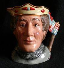 """Royal Doulton Character Toby Jug """"The Shakespearean Collection"""" Henry V D6671"""