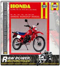 buy honda xr motorcycle books ebay rh ebay co uk 2005 Honda XR80 1982 honda xr80 manual pdf