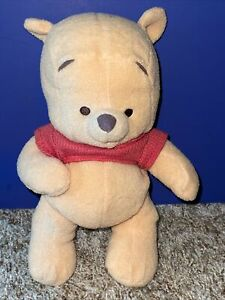 Baby's First Winnie The Pooh Plush Rattle Bear 2001 Mattel Disney Fisher Price