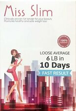 Miss Slim Weight Loss for Women-Extreme Potency Diet Pill Fat Binder 10 Pills/pk