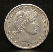 1906 Barber Half Dollar UNC