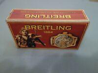 """Handgefertigt Armbanduhr """"BREITLING"""" Karton Uhrenboxen Uhren Schatulle Kasten №2"""