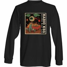 """Radio KSG - """"Become What Can"""" Single Cover Long Sleeve Black T-Shirt"""