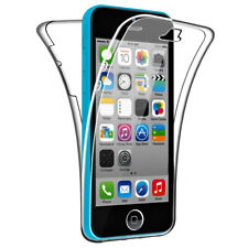 SDTEK Case for iPhone SE / 5c Full Body 360 Cover Silicone Front and Back