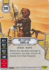 x1 BD-1 Cutter Vibro-AX 53 Rare Star Wars Destiny Empire at War M/NM