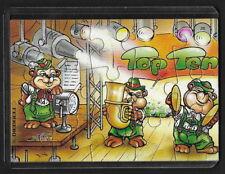 Jouet kinder puzzle 2D Top Ten Teddies Musiciens 1 Allemagne 1995 + étui +BPZ